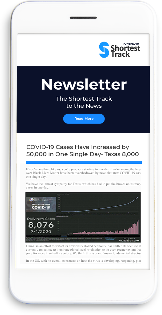 newsletter mobile